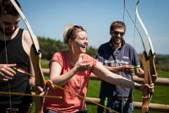 Archery at Hazlewood Castle