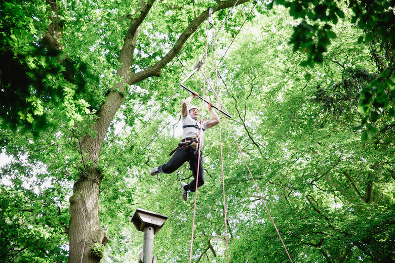 High Ropes at Ripley Castle
