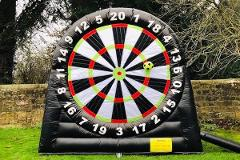 Football Darts at Hazlewood Castle
