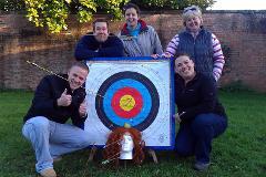 Archery at Hazlewood Castle