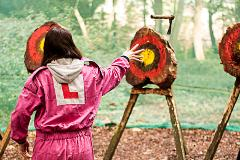 Axe Throwing at Ripley Castle