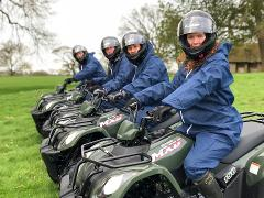 Quad Biking at Ripley Castle