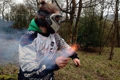 Paintballing at Hazlewood Castle