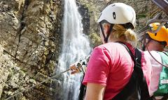 Waterfall Zipline - Open Group 4-Zip Tour