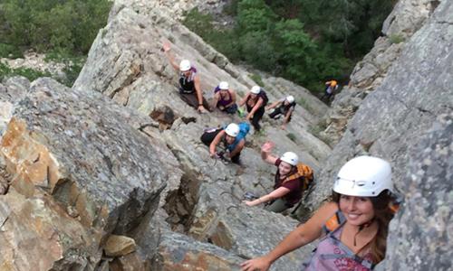 Via Ferrata - Non-Profit Group Climb