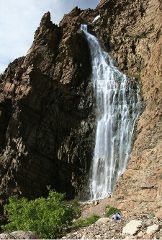Guided History and Science Hike to 350' Waterfall