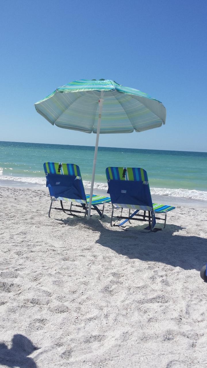 Umbrella and 2 Beach Chairs | AMI Adventure Rentals