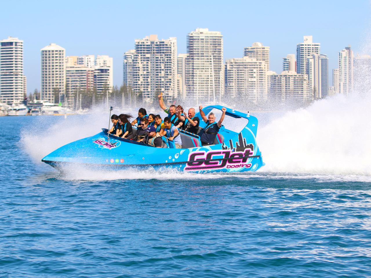 Ultimate V8 Jet Boat Thrill Ride