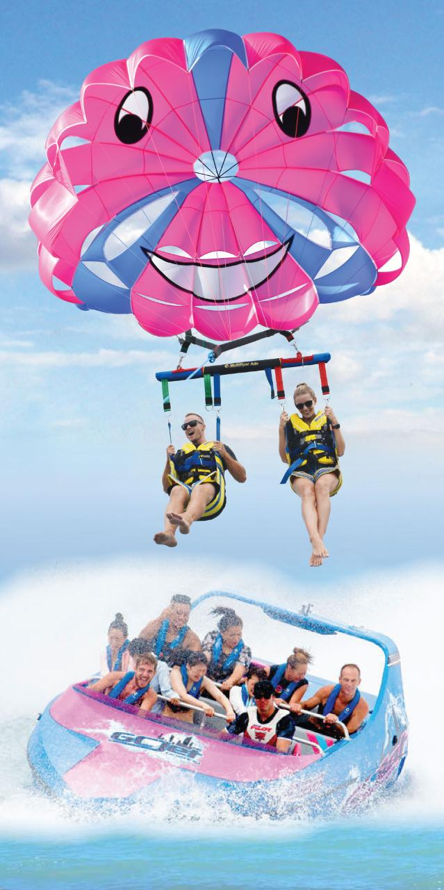 Tandem Parasail /Jetboat Package