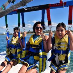 Gold Coast Parasailing - Triple