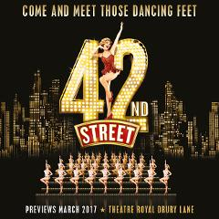 42nd Street at Theatre Royal Drury Lane, London - Wed 29th Nov 2017