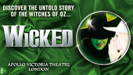 Wicked at Apollo Victoria Theatre, London - Wed 11th Oct 2017