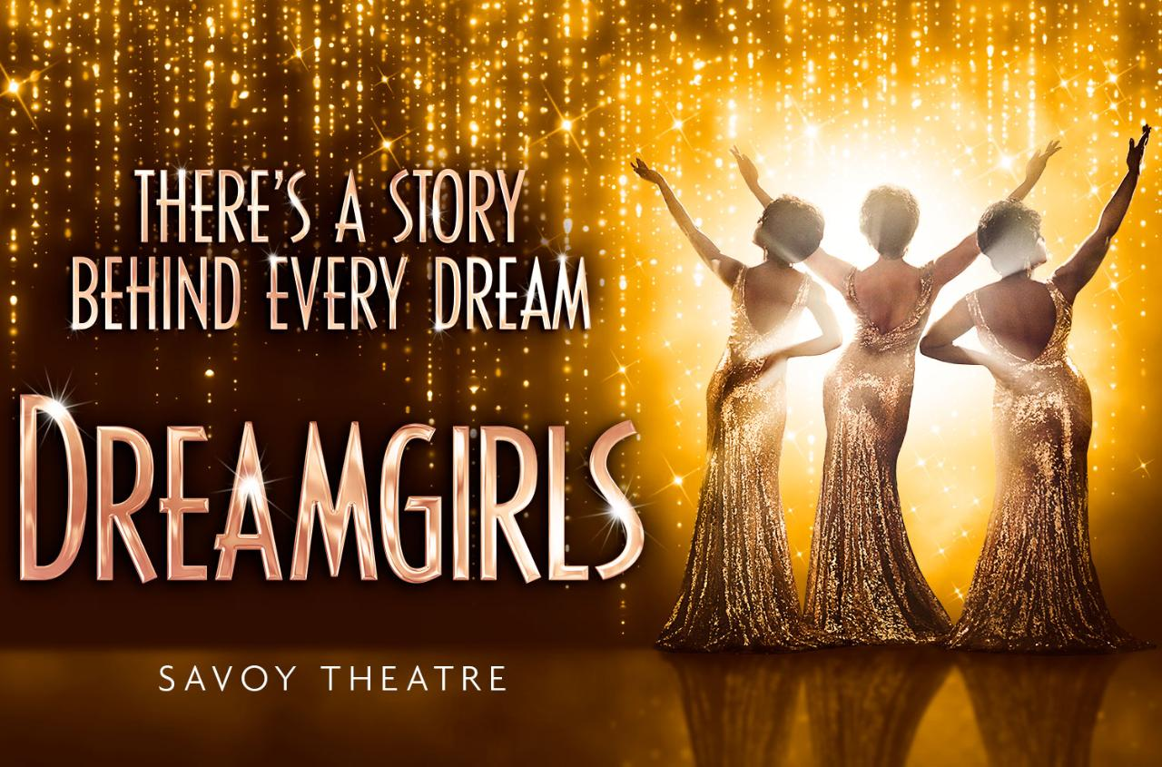 Dreamgirls at Savoy Theatre, London - Wed 4th July 2018