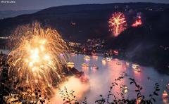 The Rhine in Flames - An Incredible Spectacle on the Water - River Cruise - Thu 8th Aug 2019