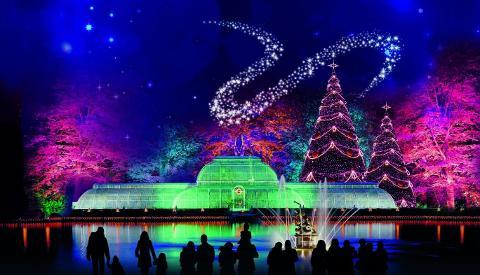 Christmas At Kew Illuminated Trail - Sun 17th Dec 2017 - COACH 2