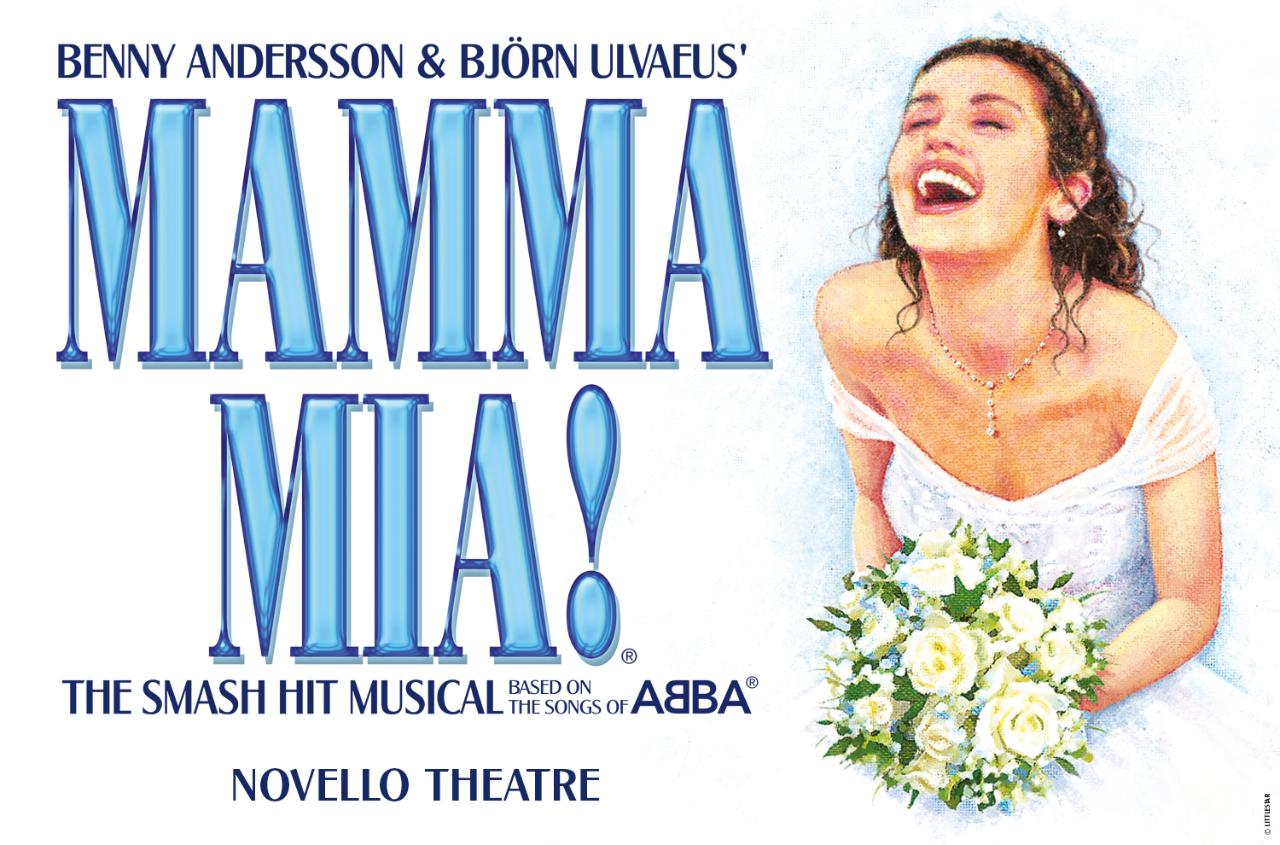 Mamma Mia at Novello Theatre, London - Thu 13th Sept 2018