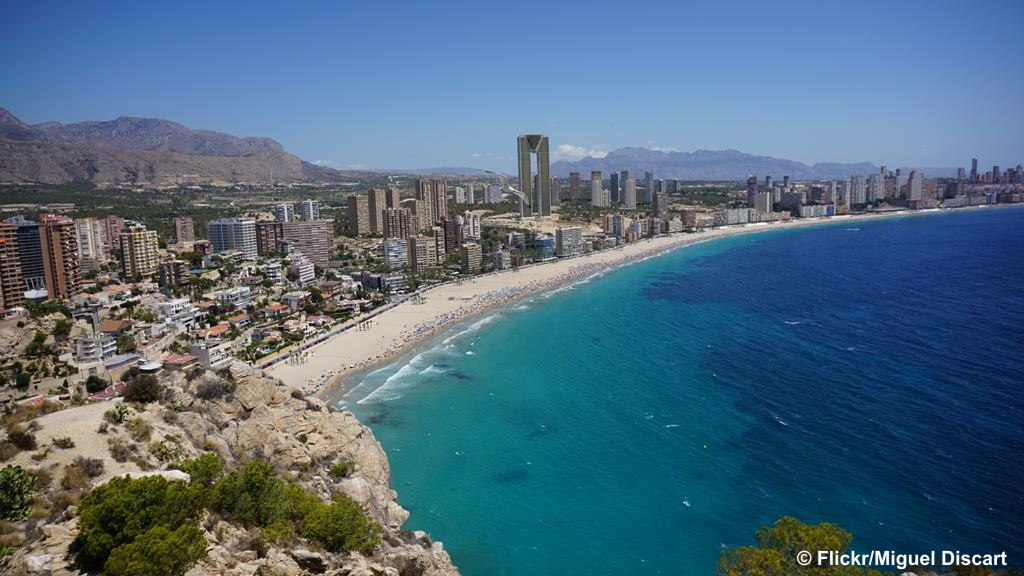 Benidorm - Spain's Costa Blanca - Fri 9th Feb 2018