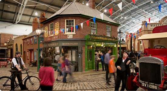 Milestones Living History Museum OR Festival Place Shopping - Basingstoke - Tue 7th Aug 2018