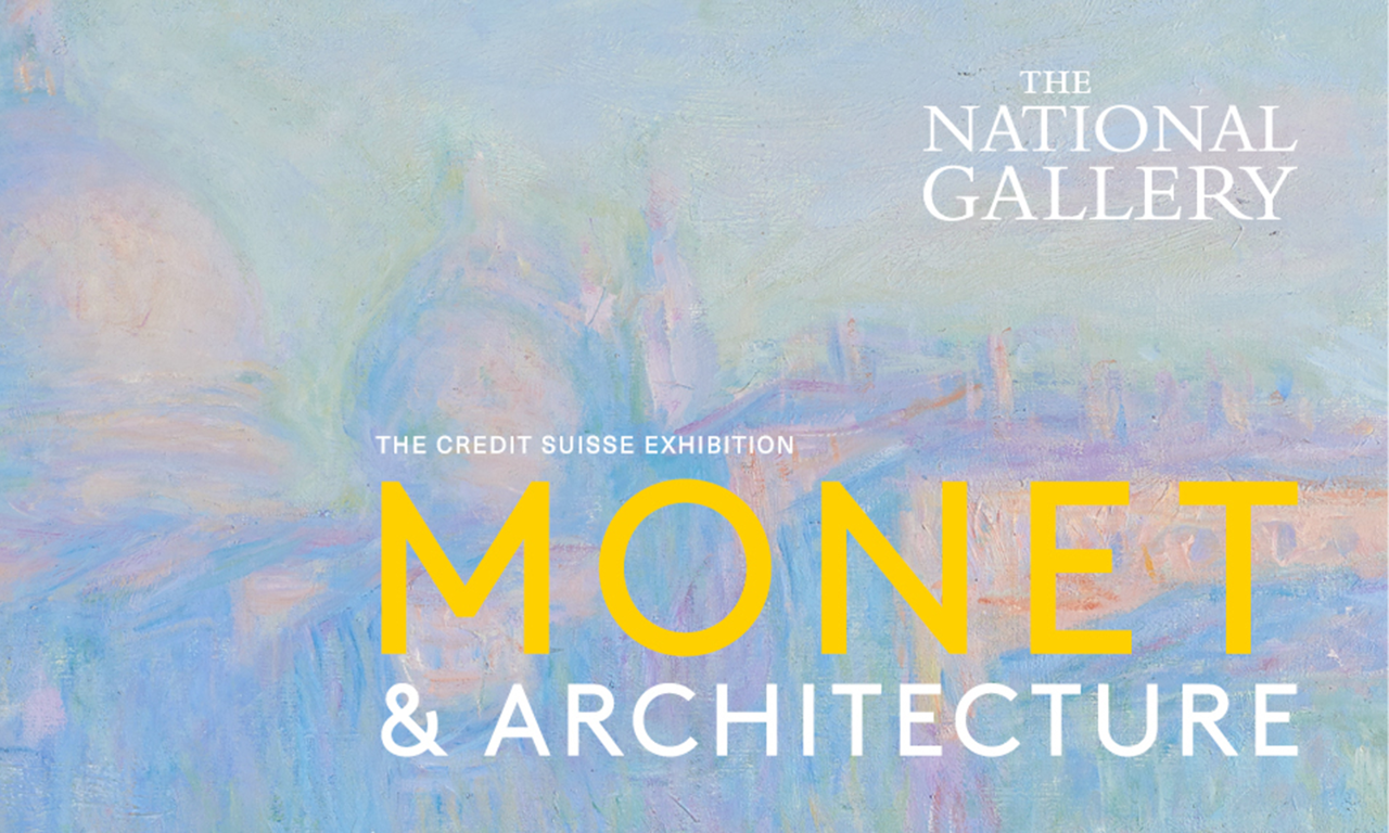 Monet & Architecture at The National Gallery - Tue 5th June 2018