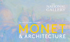 Monet & Architecture at The National Gallery - Thu 12th July 2018