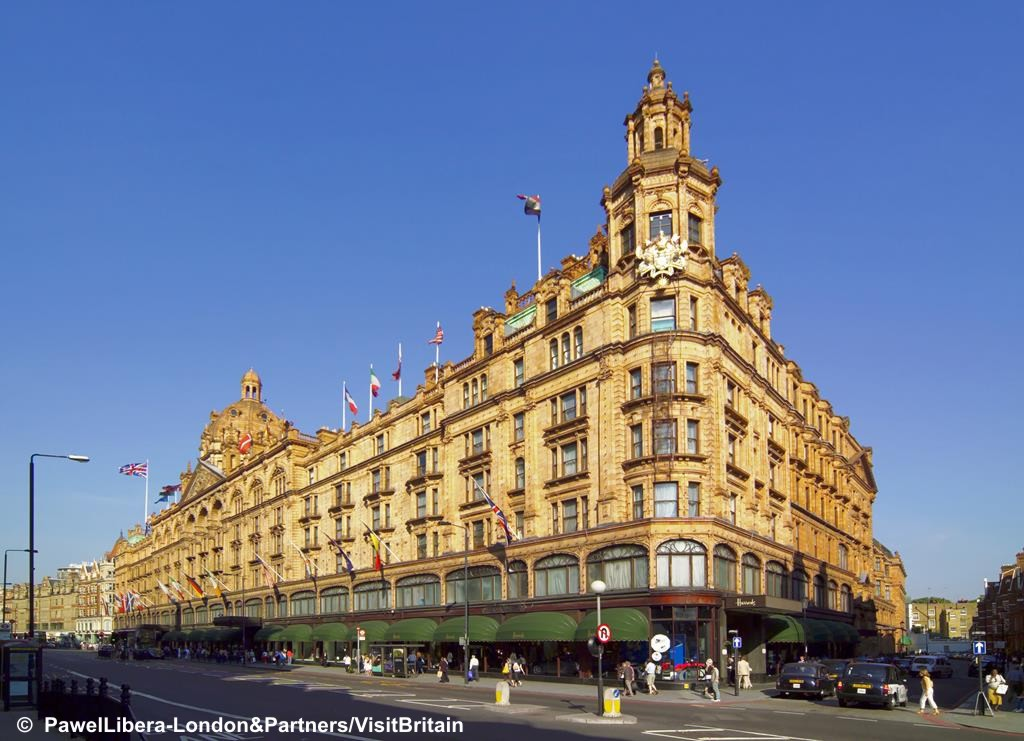 London - Knightsbridge Shopping & Museums - Tue 30th April 2019