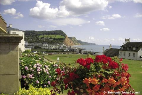 Sidmouth - Devon's Jurassic Coast - Mon 13th August 2018