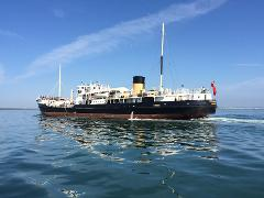 SS Shieldhall Cruise Ship Sailaway - Sat 10th Aug 2019