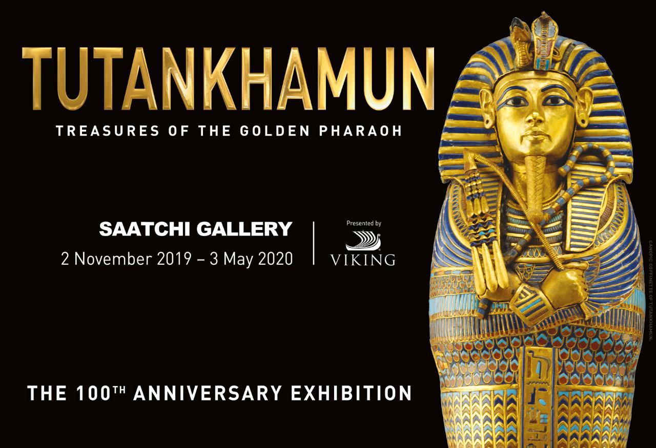 Tutankhamun - Treasures of The Golden Pharaoh - Wed 8th Jan 2020