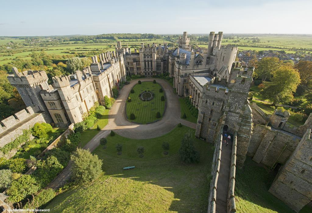 Arundel Castle OR Arundel only - Tue 17th July 2018