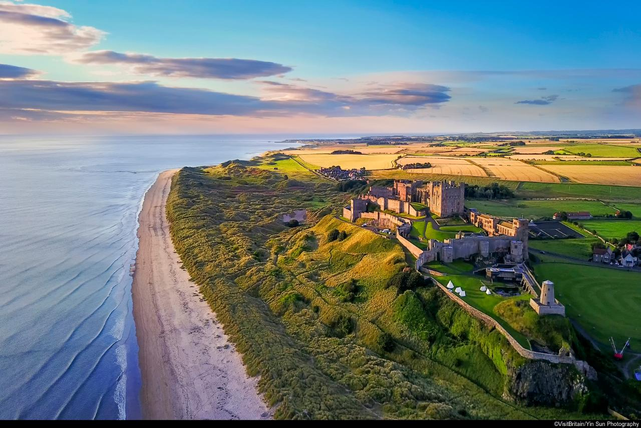 Newcastle & Jewels of Northumberland - Mon 6th Sept 2021