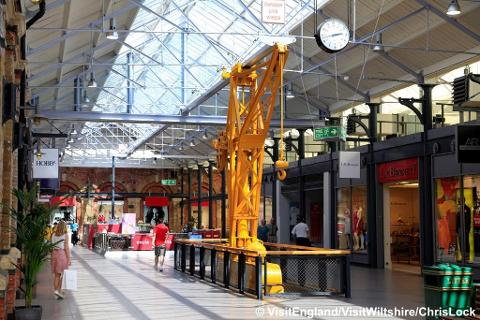 Swindon Designer Outlet Shopping or Train Museum - SUPER SAVER -  Wed 10th Jan 2018