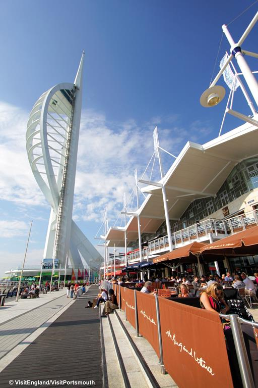 Portsmouth - Historic Dockyard OR Gunwharf Quays Shopping - Tue 12th June 2018