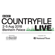 BBC Countryfile Live at Blenheim Palace - Fri 3rd Aug 2018