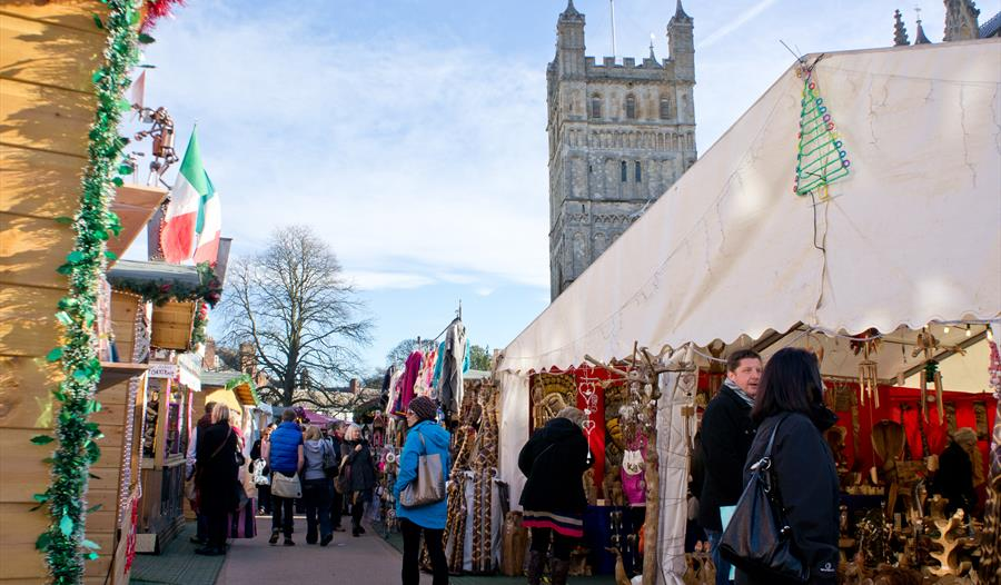Exeter Christmas Markets - Mon 18th Nov 2019