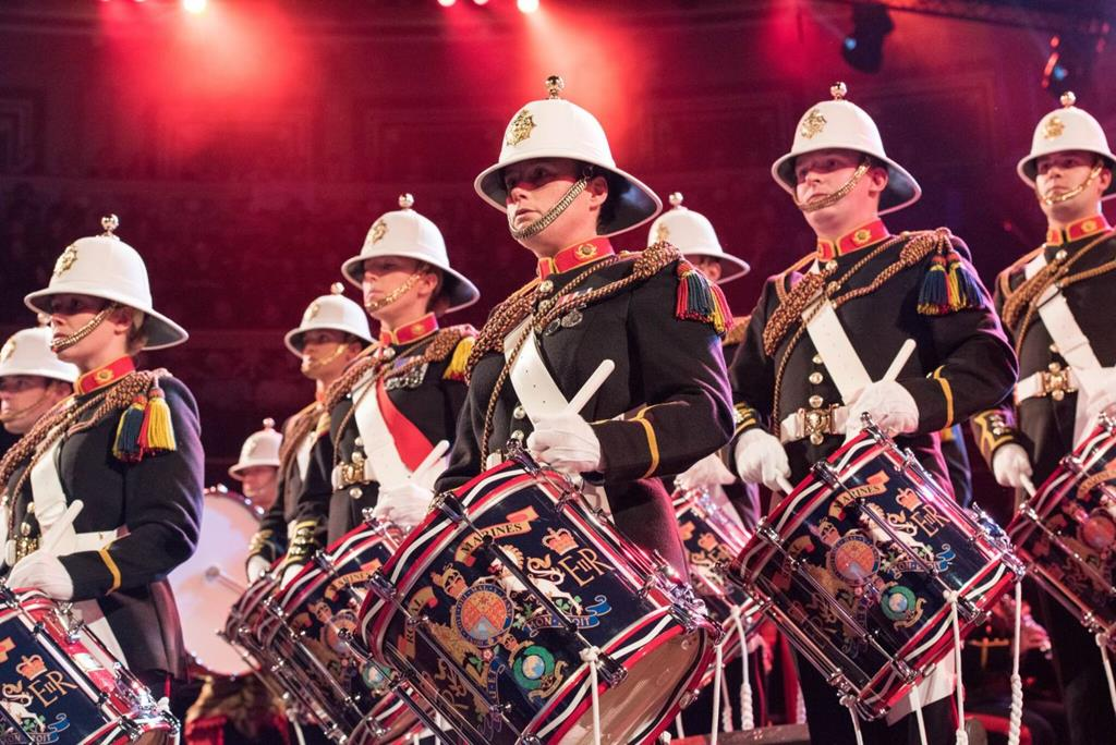 Mountbatten Festival of Music at The Royal Albert Hall - Sat 16th March 2019