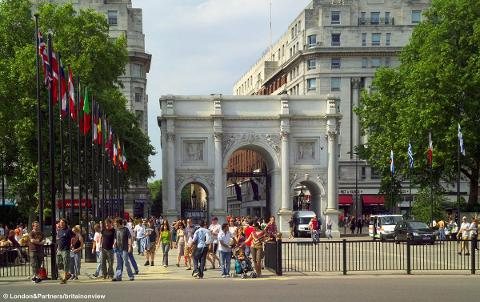London - Marble Arch - Wed 7th March 2018