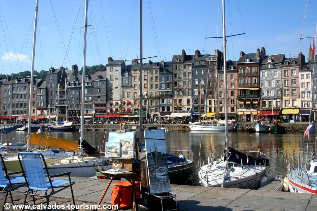 Honfleur & Monet's Garden - Mon 8th July 2019