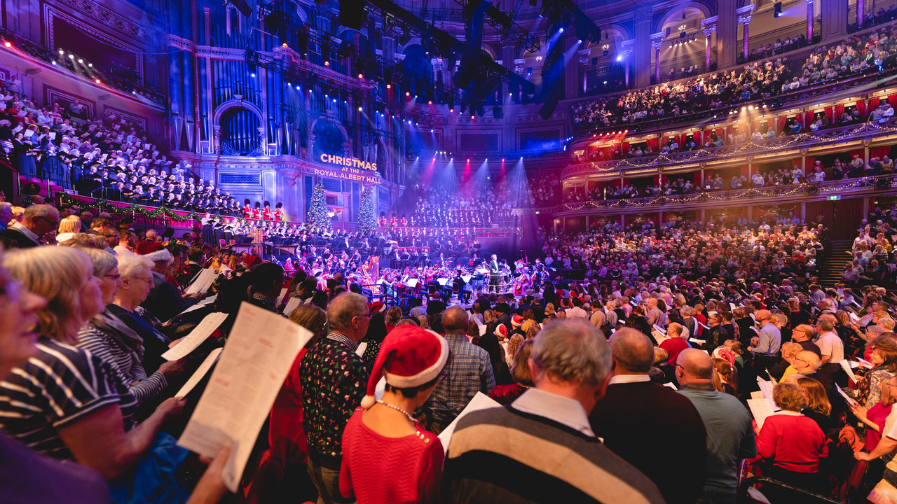 Carols at the Royal Albert Hall - Christmas Singalong - COACH 2 - Sat 21st Dec 2019