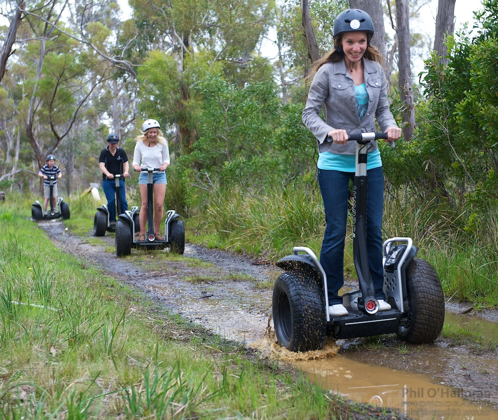 Segway Tasmania Farm Tour - Fort Chimo, Oyster Cove