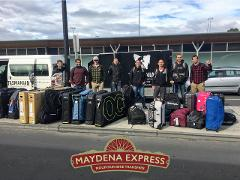 Maydena Express - Transfer Hobart Airport to Maydena Bike Park. Includes stop-off for provisions.