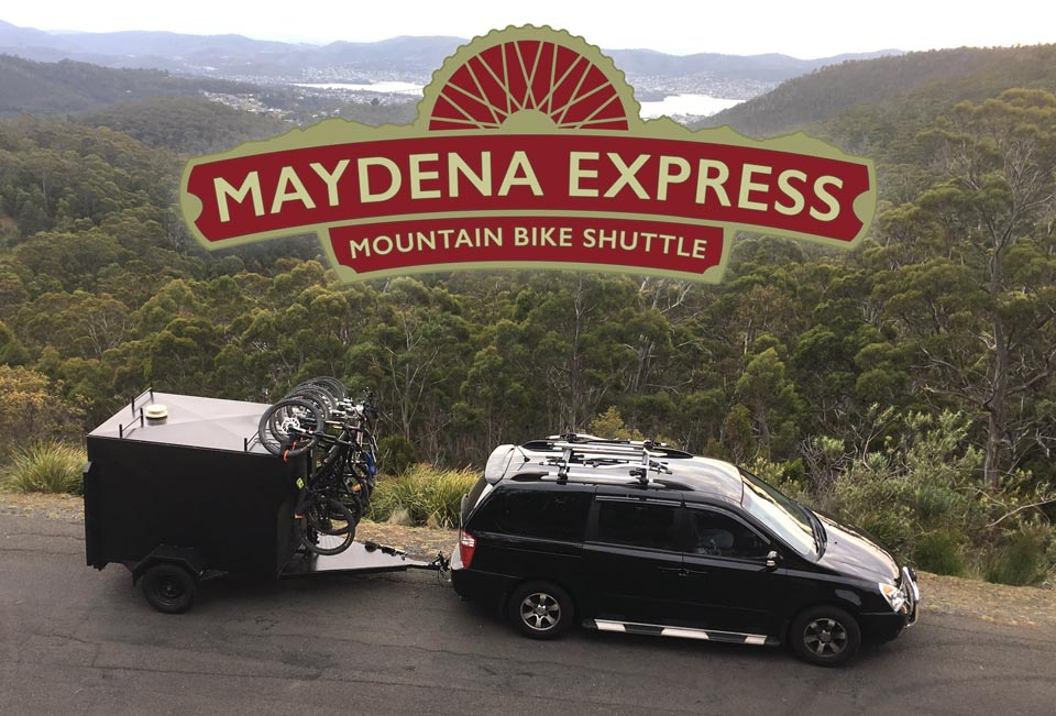 Maydena Express Vehicle Charter - Hobart Airport to Maydena Bike Park