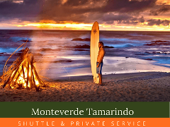 Private Transfer Monteverde Tamarindo or vise versa