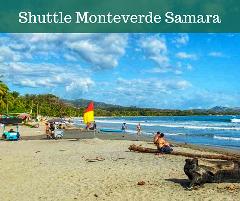 Shuttle from Playa Samara  to  Monteverde