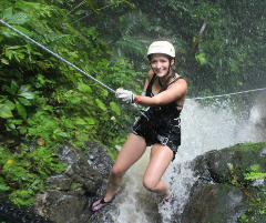 Costa Rica Canyoning in the Lost Canyon Go Big! Go Canyoning with Desafio!
