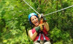 Combo Selvatura Hanging Bridges + Zip Lines + Hummingbird Garden a geat adventure in the cloud forest
