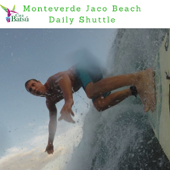 Monteverde to Jaco Shuttle Service 8:00 am