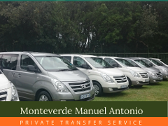 Private Shuttle Monteverde Manuel Antonio