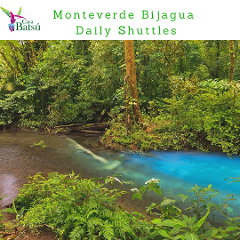 Shuttle from Bijagua to Monteverde