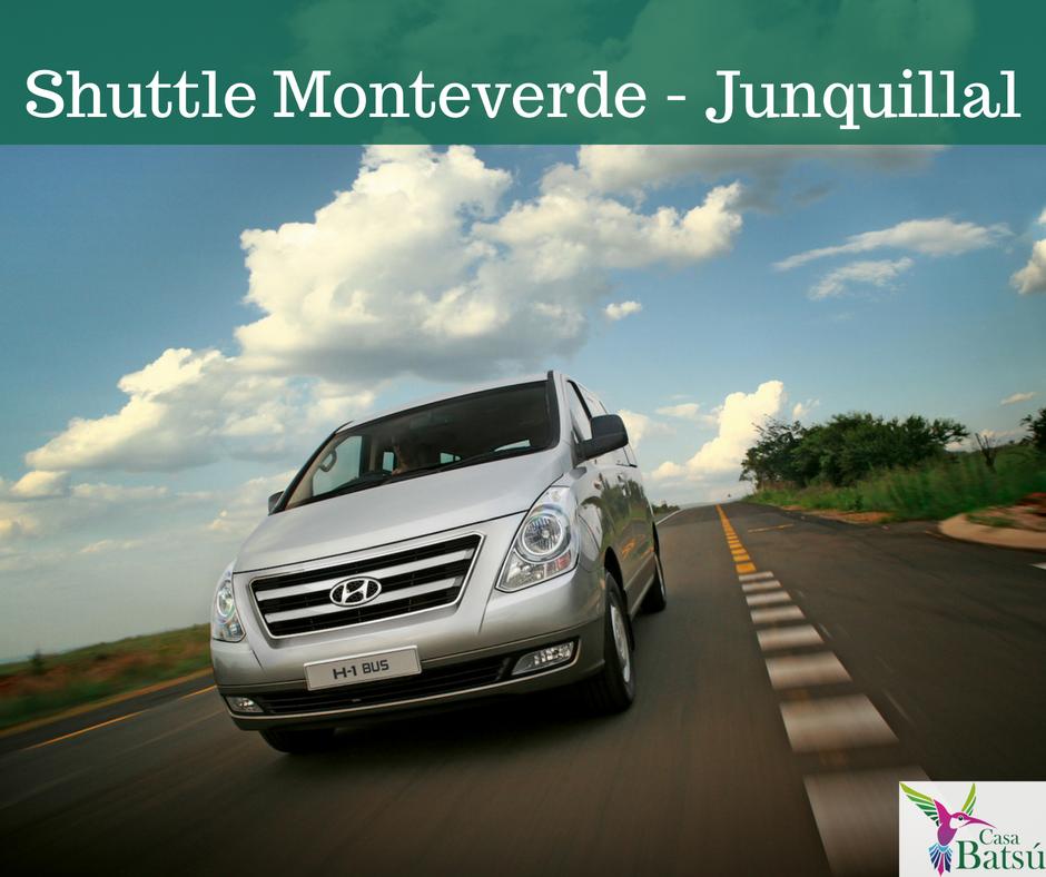 Shuttle Transportation  Monteverde Junquillal Beach.