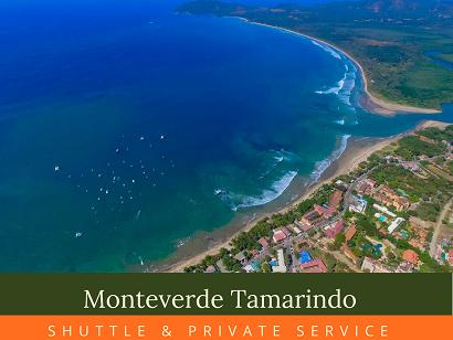 Shuttle Monteverde Tamarindo 8:00 am